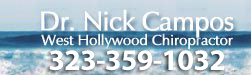 West Hollywood Chiropractor - Home